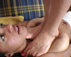 Extreme Trampling and Masturbation