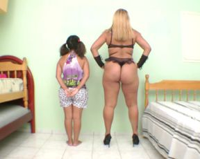 Huge Ass For Two Slaves