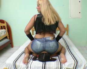 Terribly Huge Ass and Helpless Girl